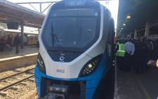 Six hundred trains have been budgeted for, 20 from a Brazilian supplier, while the other 580 will be manufactured locally in Ekurhuleni. Picture: Kgothatso Mogale/EWN.
