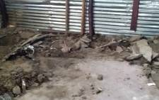 A 32-year-old man from Giyani, Limpopo was arrested for murdering his 53-year-old wife and burying her body in a shallow grave inside a shack on Wednesday, 6 January. Picture: SAPS