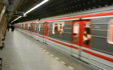 A general view of the Attiko Metro station in Athens. Picture: @ICEXATENAS/Twitter.