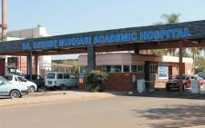 George Mukhari Hospital in Ga-Rankuwa. Picture: Dr. George Mukhari Academic Hospital Facebook page.