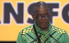 Ace Magashule. Picture: Screengrab
