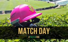 Pink Day returns to the Wanderers on Friday 12 February 2016, where there'll be a tinge of pink in the cricket kit for breast cancer awareness. Picture: @OfficialCSA via Twittter.