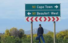 FILE: The N1 highway between Cape Town and Beaufort West. Picture: EWN.