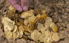 FILE: Florida treasure hunters found a trove of $4.5 million worth of Spanish gold coins. Picture: AFP.