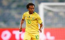 Bafana Bafana's Percy Tau. Picture: @percymuzitau22/Twitter.
