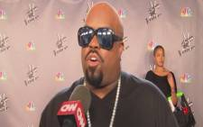 A screengrab of singer Cee Lo Green from CNN's Hollywood Minute. Picture: CNN