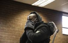 FILE: Muzikayise Malephane (31) appears in the Roodepoort Magistrates Court on 17 June 2020 for the murder of Tshegofatso Pule. Picture: Kayleen Morgan/EWN