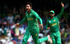 Fast bowler Mohammad Amir has been omitted from Pakistan's 15-man preliminary squad for the ICC Men's Cricket World Cup, but has been included for their ODI series against England. Picture : Twitter/@cricketworldcup