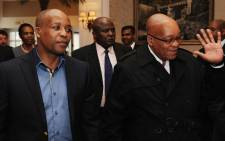 Phumulo Masualle with President Jacob Zuma. Picture: www.gov.za