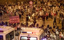 FILE: Pro-democracy protests in Hong Kong. Picture: Bridgette Hall/EWN