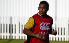 FILE: Elton Jantjies during a Springbok training session in Cape Town on 13 August 2012. Picture: EWN