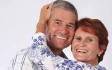 Trevor Davis and his wife Elma Davis. Picture: facebook.com