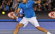 The best: World number 1 tennis player Roger Federer. Picture: AFP