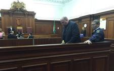 Johan van Staden was found guilty of more than 40 charges for defrauding the Sars of R250 million. Picture: Monique Mortlock/EWN.