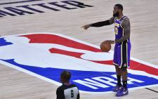 LeBron James #23 of the Los Angeles Lakers handles the ball during the game against the Denver Nuggets during Game Five of the Western Conference Finals of the NBA Playoffs on September 26, 2020 at The AdventHealth Arena at ESPN Wide World Of Sports Complex in Orlando, Florida. Picture: AFP.