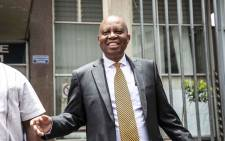FILE: Johannesburg Mayor Herman Mashaba laid charges of fraud, corruption, money laundering and racketeering against former MMC of Finance Geoff Makhubo and former mayor Parks Tau, at Johannesburg Central police station. Picture: Abigail Javier/EWN