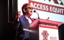 Sir Elton John at the International Aids Conference in Durban, on 21 July 2016. Picture: Kgothatso Mogale/EWN