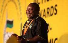 Cyril Ramaphosa at the ANC Elective Conference in Mangaung on 16 December 2012. Picture: Taurai Maduna/EWN