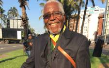 Jacob Zuma supporter Obed Mbatha. Picture: Ziyanda Ngcobo/EWN