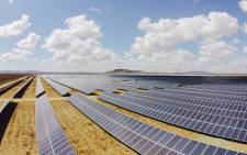 FILE: A solar power farm. Picture: EWN