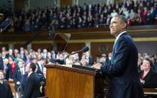 US President Barack Obama delivers his State of the Union address to Congress on 19 January 2015. Picture: Official Barack Obama Facebook