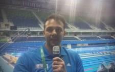 EWN Sport Editor Jean Smyth in Rio.Picture: Jean Smyth/EWN