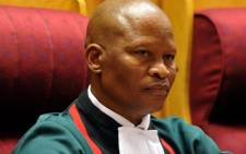 Chief Justice Mogoeg Mogoeng along with other members from the Judicial Service Commission interviewed candidates to occupy a seat in the Constitutional Court on 9 June 2012. Picture: GCIS