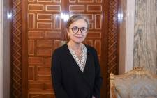 A handout picture provided by the Tunisian Presidency on 29 September 2021 shows Najla Bouden in the capital Tunis. Tunisia's president named Najla Bouden as the country's first-ever female prime minister and tasked her with forming a government, two months after he grabbed power. Picture: AFP