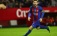 Barcelona forward Lionel Messi. Picture: AFP