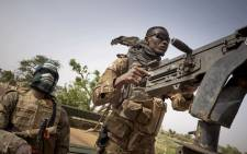 FILE: Soldiers of the Malian army are seen during a patrol. Picture: AFP