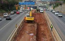 Road closures planned for M1 double-decker as part of the next phase of the M1 rehabilitation program. Picture: Twitter/@CityofJoburgZA.