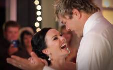 Duane and Ezel Vermeulen dance at their wedding day. Picture: Goosebump Productions