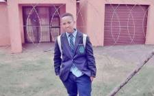 The body of Anele Bhengu was discovered on 13 June 2021 in a ditch near a school in the KwaMakhutha community, south of Durban. Picture: Supplied.
