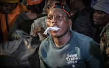Residents of Alexandra disrupt Johannesburg Mayor Herman Mashaba's address at Marlboro Community Hall. Picture: Abigail Javier/EWN