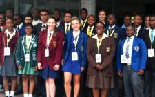 The 25 top achieving matrics in South Africa for 2013 celebrated their achievement at a breakfast held for them in Sandton on 6 January 2014. Picture: Reinart Toerien/EWN.