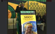 Nkosazana Dlamini-Zuma addressing the crowd in Kwaximba in KwaZulu Natla on 18 August 2017. Picture: Ziyanda Ngcobo/EWN