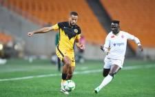 Kaizer Chiefs defender Reeve Frosler  in action against Raja Casablanca at FNB Stadium on Saturday 26 June 2021.  Source: @KaizerChiefs