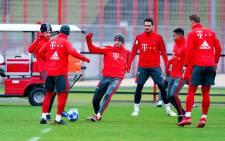 Bayern Munich FC players. Picture: @FCBayern/Twitter