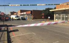 Three people have been killed and several others injured in Brakpan this morning following a shooting incident at the Wenden and High Street intersection. Picture: Thando Khubeka/EWN