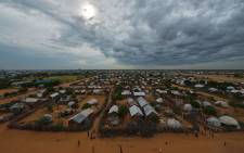 In this file photo taken on 28 April, 2015 is seen an overview of the part of the eastern sector of the IFO-2 camp in the sprawling Dadaab refugee camp, north of the Kenyan capital Nairobi. Picture: AFP
