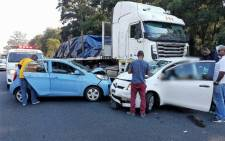 20 people injured in multiple car pile-up. Picture: Twitter/@_ArriveAlive.