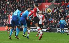 substitute Olivier Giroud rescued Arsenal with a late equaliser in a 1-1 draw at St Mary's on Sunday. Picture: Twitter