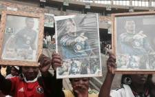 Fans have brought in all sorts of Senzo memorabilia. Picture: Marc Lewis/EWN.