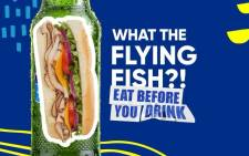 Flying Fish: Eat before you drink