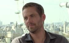 Late actor Paul Walker. Picture: CNN.
