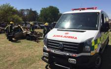Nearly 160 new new ambulances will be purchased. Picture: Vumani Mkhize/EWN.