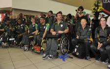Team SA for the 2012 Paralympics. Picture: LEAD SA