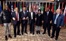 FILE: Deputy President Cyril Ramaphosa with the South African Government delegation ahead of the World Economic Forum 2018 Annual Meeting in Davos, Switzerland. Picture: GCIS.