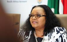 FILE: The late Minister of Environmental Affairs Edna Molewa in January 2018. Picture: GCIS.