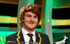 SA Rugby Player of the Year for 2015, Lood de Jager. Picture: Sean Everett/Supersport.